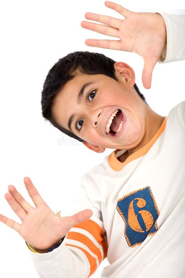 Download Kid smiling stock photo. Image of hair, isolated, joyful - 4399860