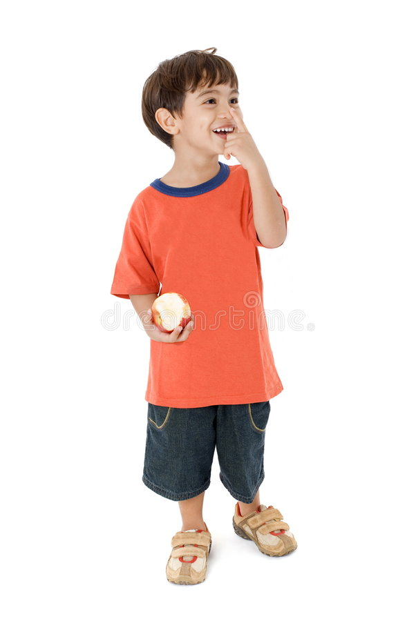 Kid Smiling stock photos