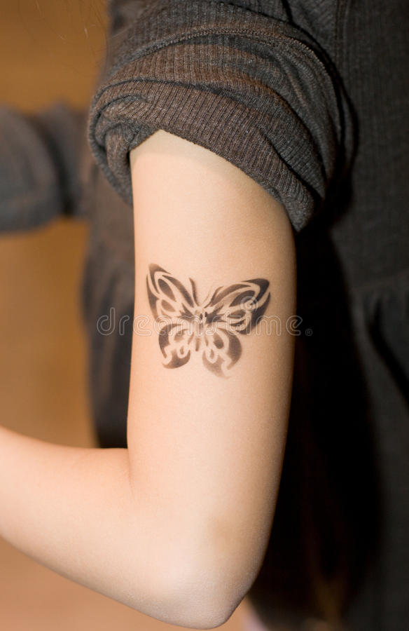 Download Kid Tattoo Stock Photos - Image: 13973803