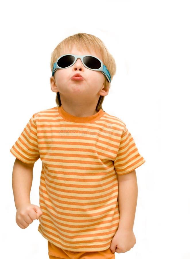 Free Kid With Sunglasses Stock Photos - 7833793