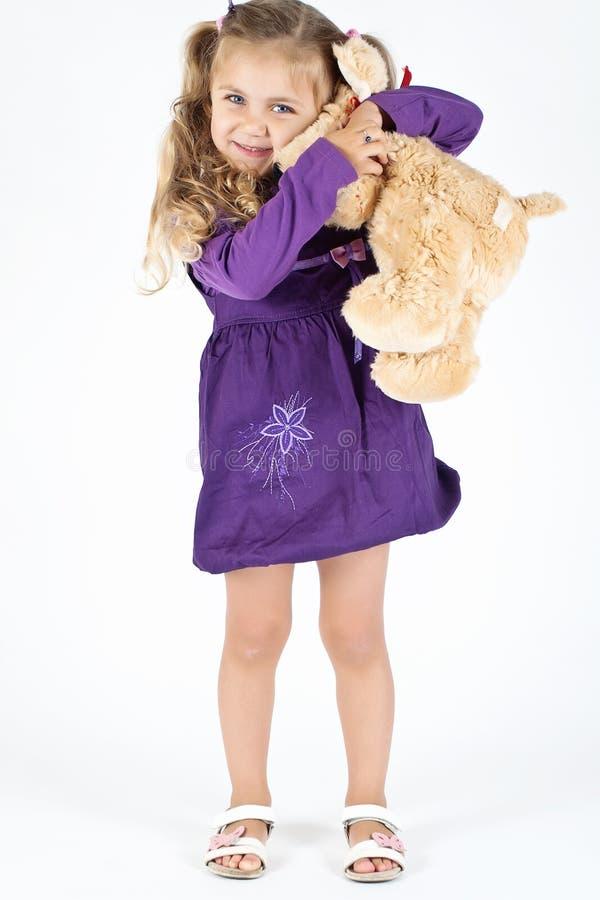 Free Kid With Teddy Bear Stock Photos - 16574453