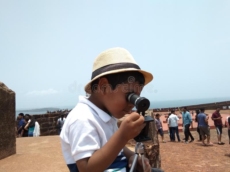 Kid royalty free stock photography