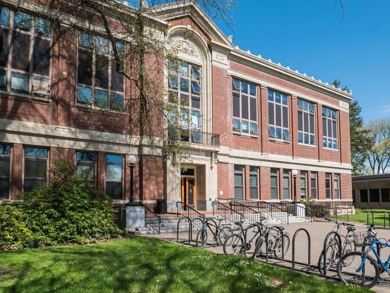 Kidder Pasillo en el campus universitario del estado de Oregon, Corvallis imagenes de archivo