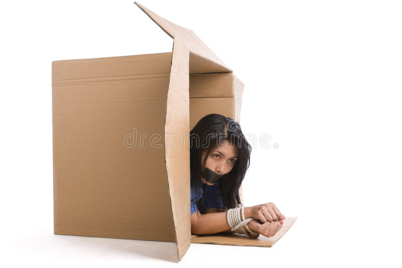 Download Kidnapping - try to escape stock photo. Image of asian - 6364746