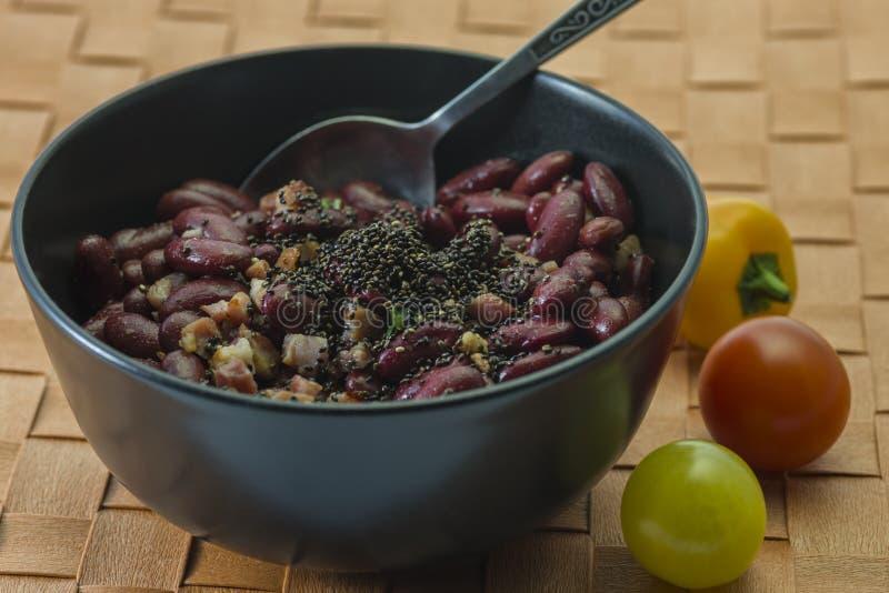 Kidney-Beans-Salad-2 zdjęcia stock
