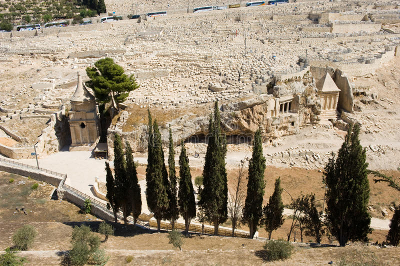 Kidron Dolina obraz royalty free