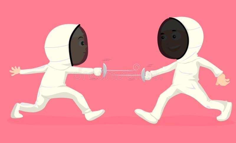 Download Kids stock vector. Image of cartoon, graphic, sword, sports - 10521008