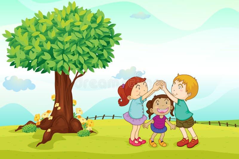 Kids stock illustration