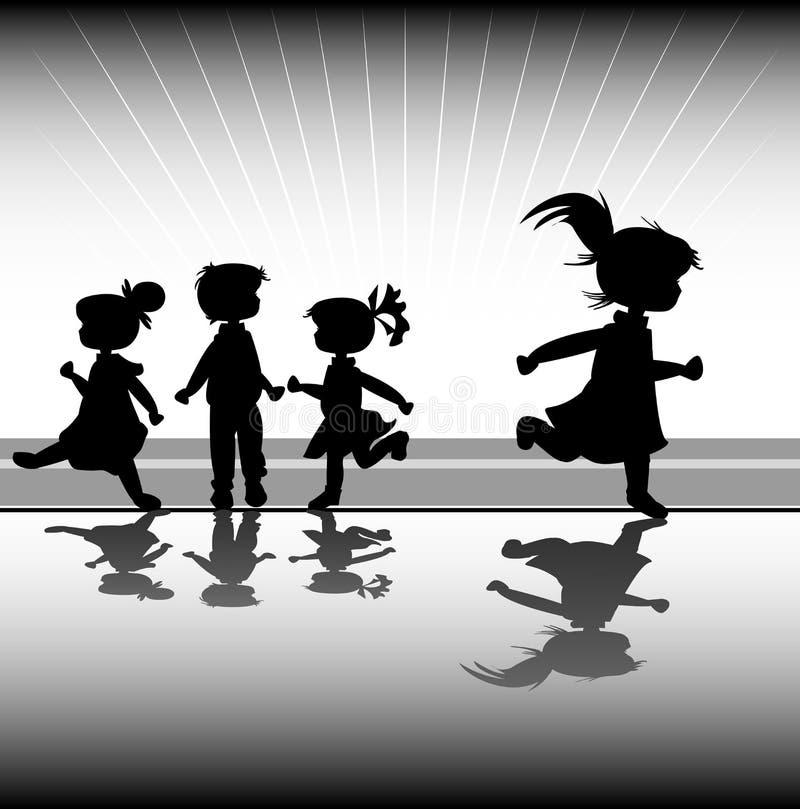 Kids vector illustration