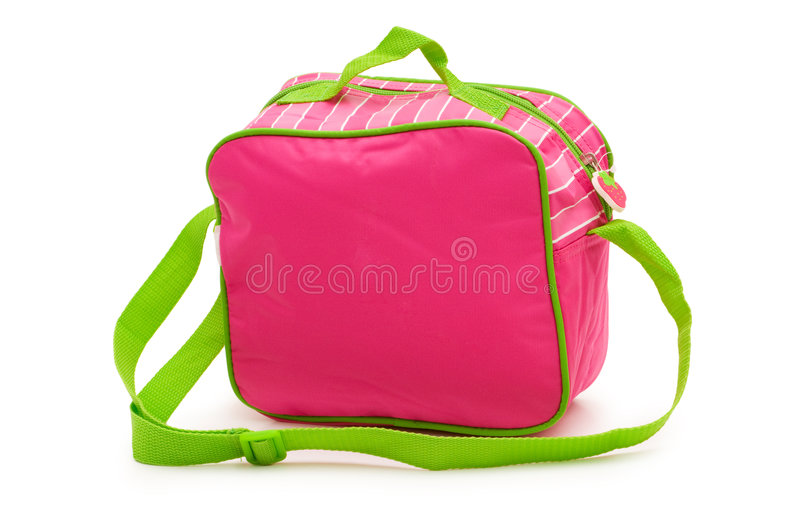 Download Kids bag isolated stock photo. Image of accessory, color - 7637846