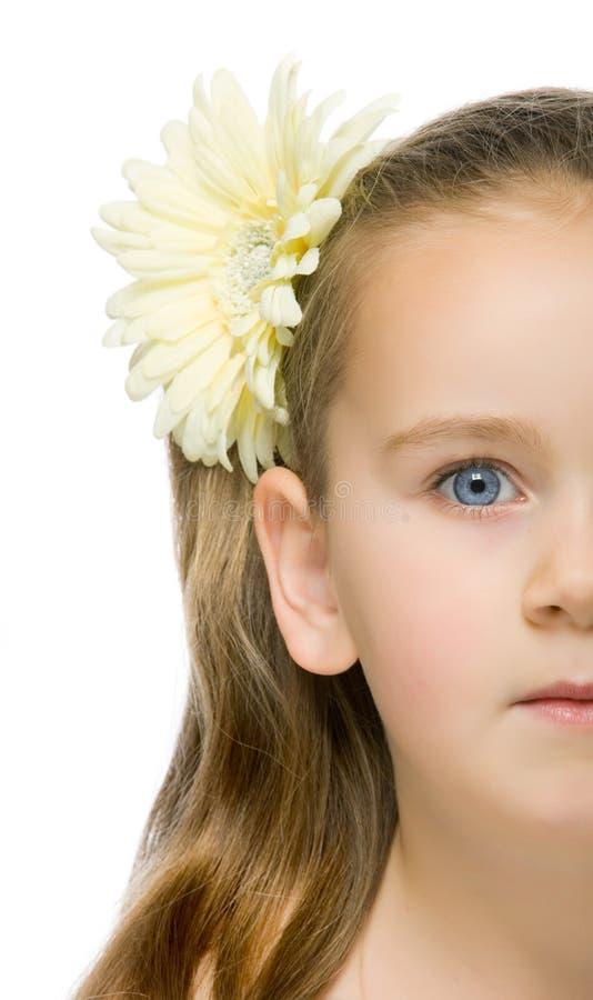 Kids beauty portrait stock image