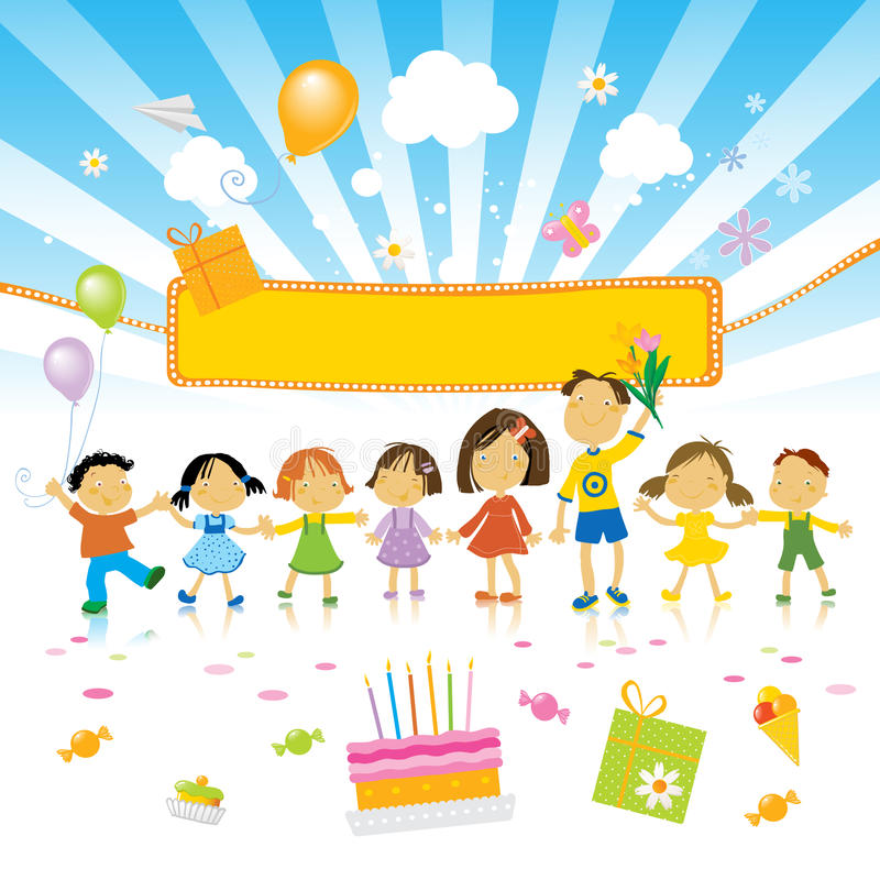 Download Kids Birthday Party Stock Photography - Image: 9509182
