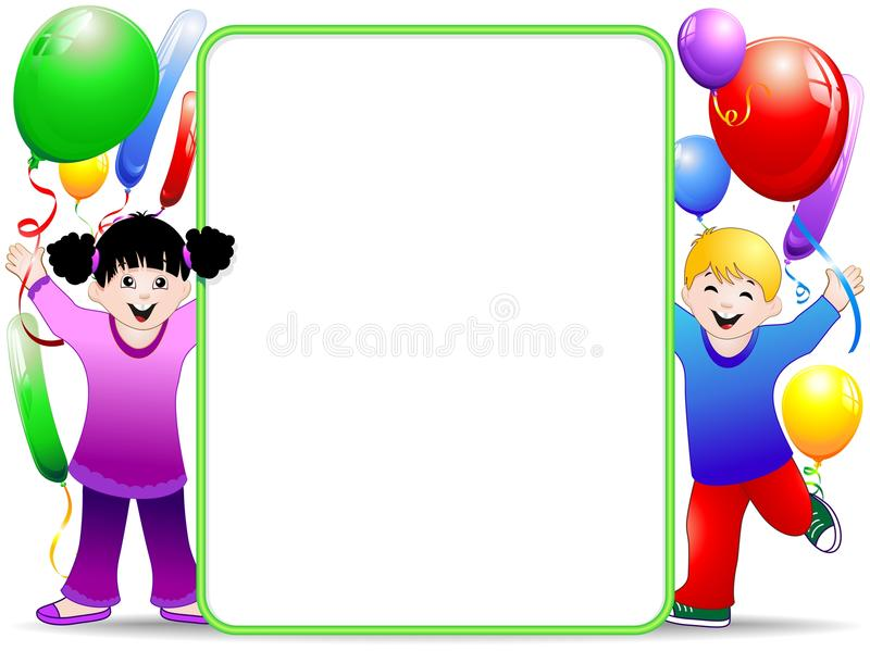 Download Kids Birthday Party Background With Balloons Royalty Free Stock Photos - Image: 21227838