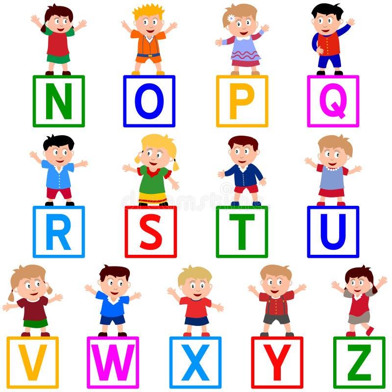 Download Kids & Blocks [N-Z] Royalty Free Stock Image - Image: 5457546