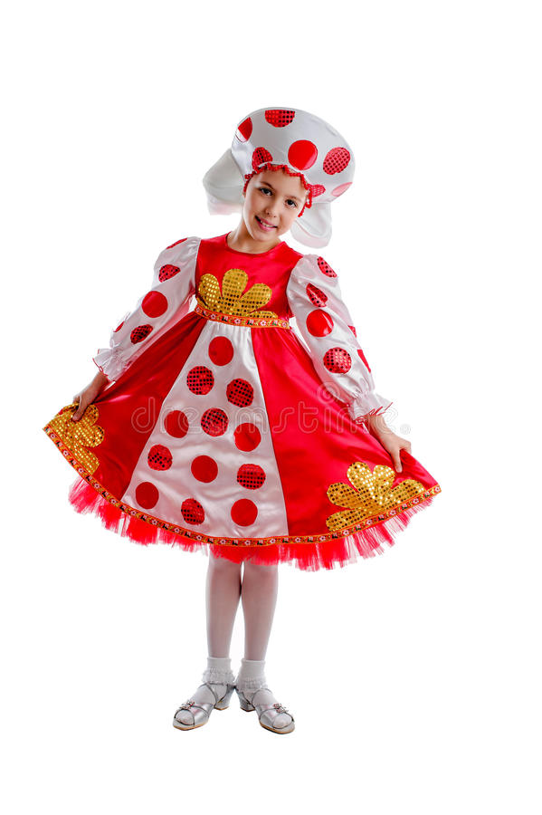 Kids carnival costume royalty free stock images