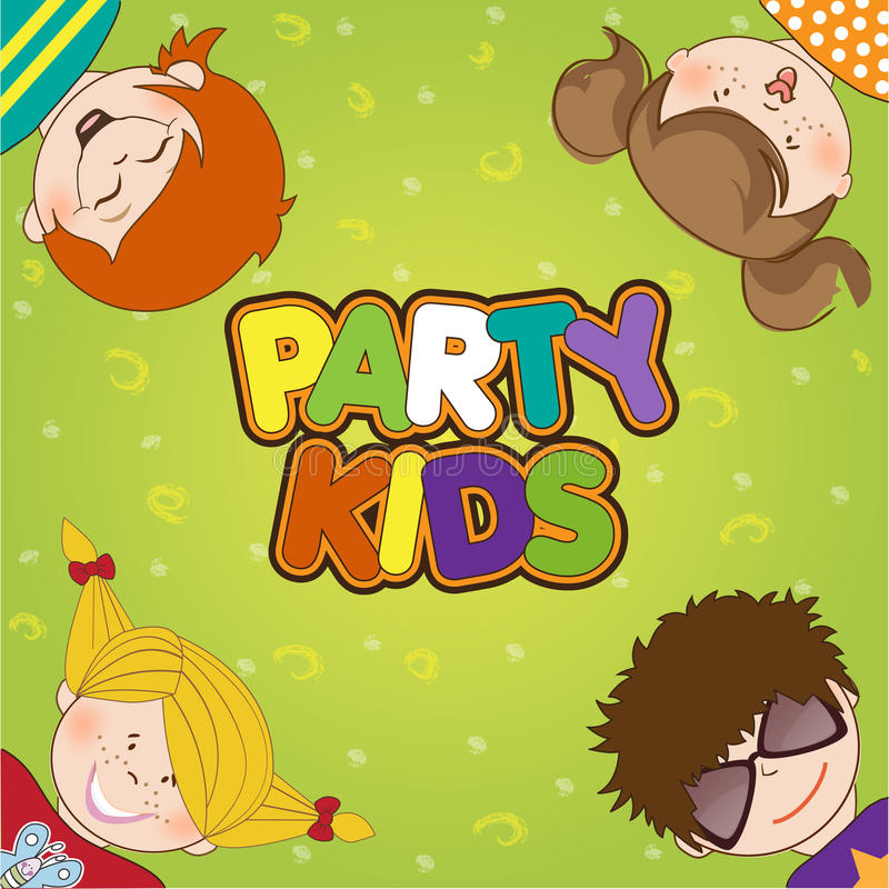 Download Kids Celebrating Birthday Party Royalty Free Stock Photography - Image: 20665217