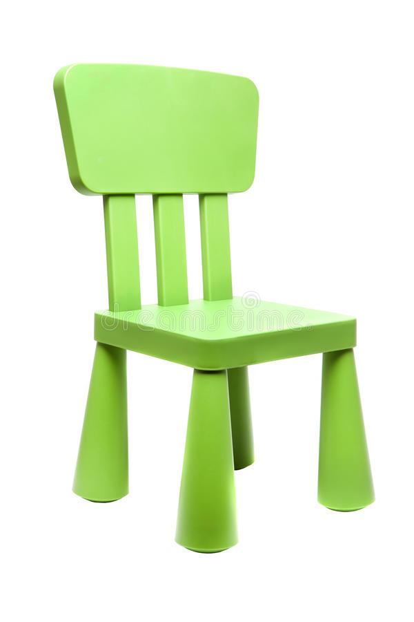 Free Kids Chair Isolated Stock Image - 19607781