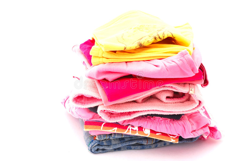 Kids clothes royalty free stock image