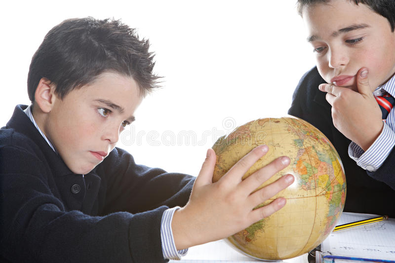 Download Kids Doing Homework At Home Stock Photography - Image: 28941552
