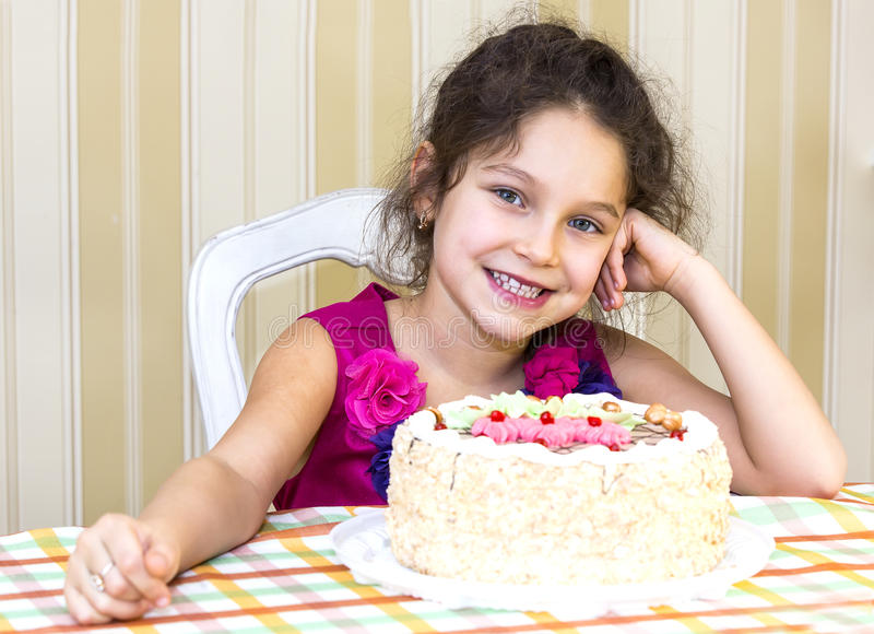 Kids eat cake stock photo Image of happiness children 37089518