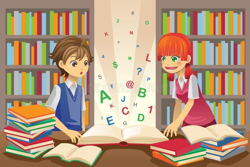 Kids education royalty free illustration