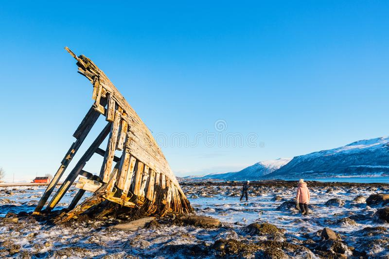 Northern Norway stock images