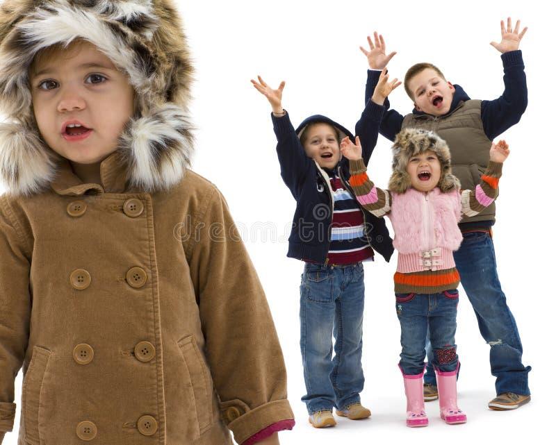 Kids fashion royalty free stock photography