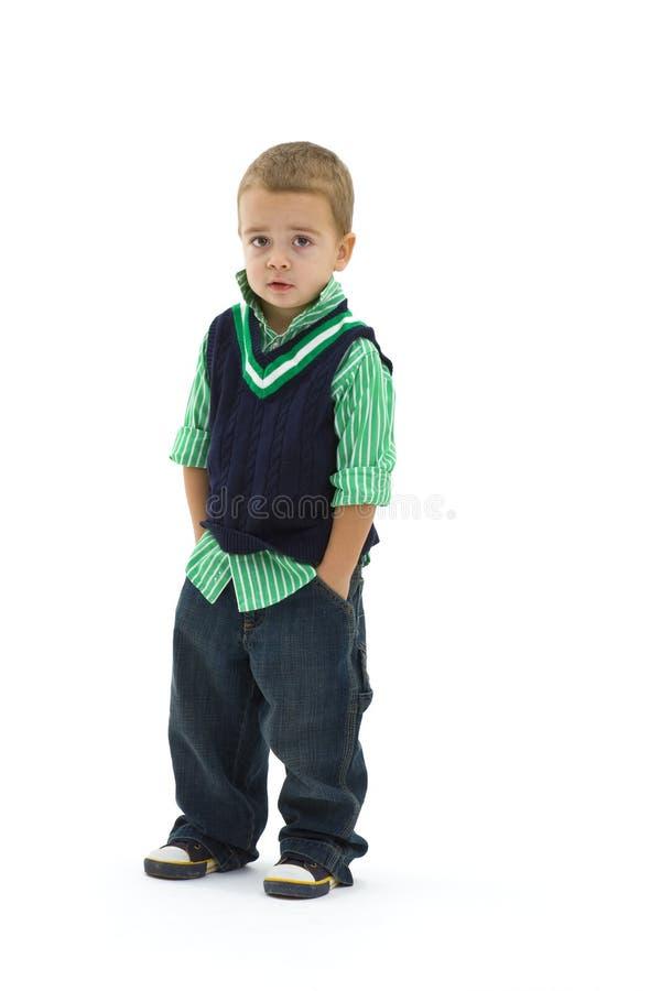 Kids fashion stock image