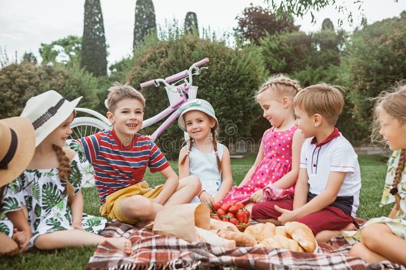 Kids fashion Concept royalty free stock photography