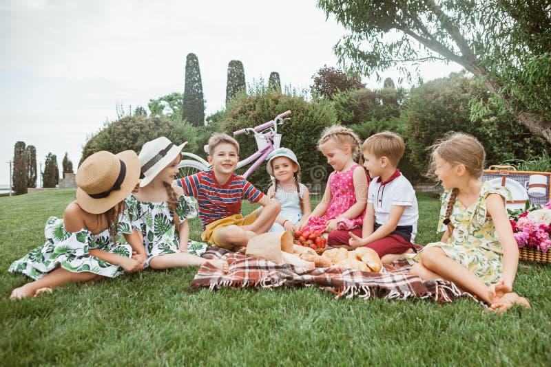 Kids fashion Concept royalty free stock photos