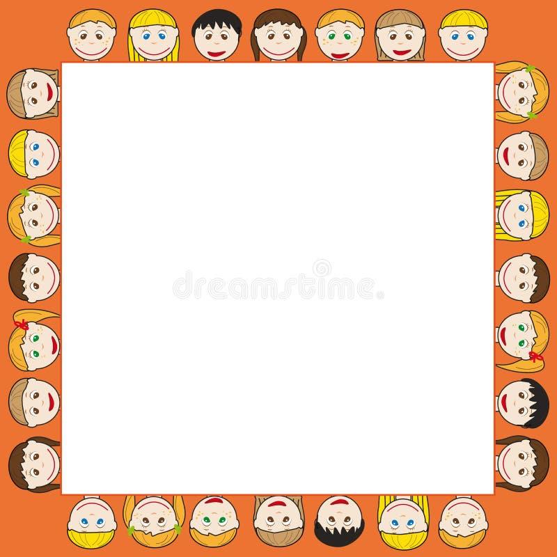 Free Kids Frame Royalty Free Stock Photo - 18275565