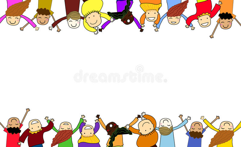 Kids Frame Stock Images