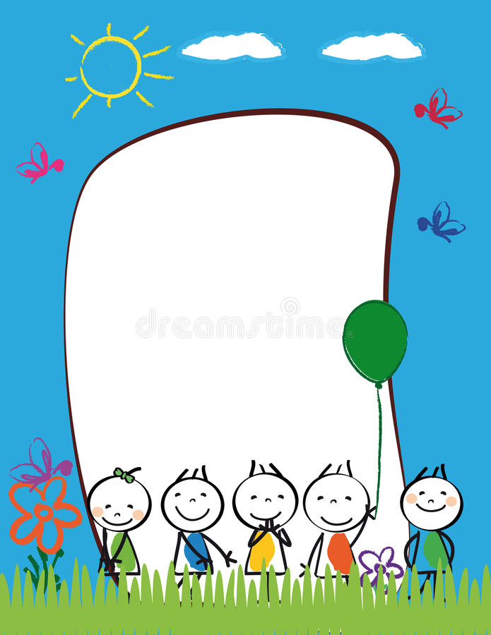 Free Kids Frame Stock Images - 36816394