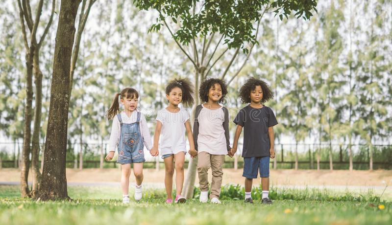 Kids Friendship stock photography