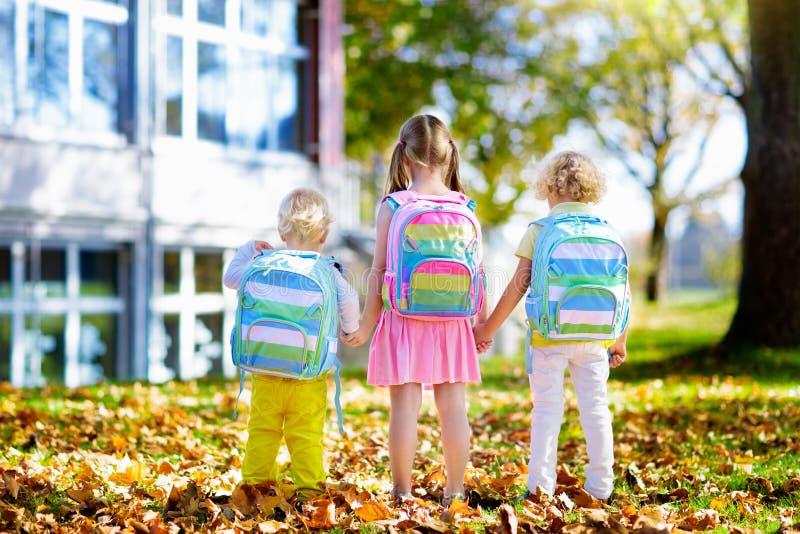 Kids go back to school. Child at kindergarten. royalty free stock image