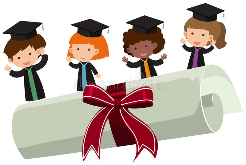 Kids Graduation Clipart Stock Illustrations – 308 Kids Graduation Clipart  Stock Illustrations, Vectors & Clipart - Dreamstime