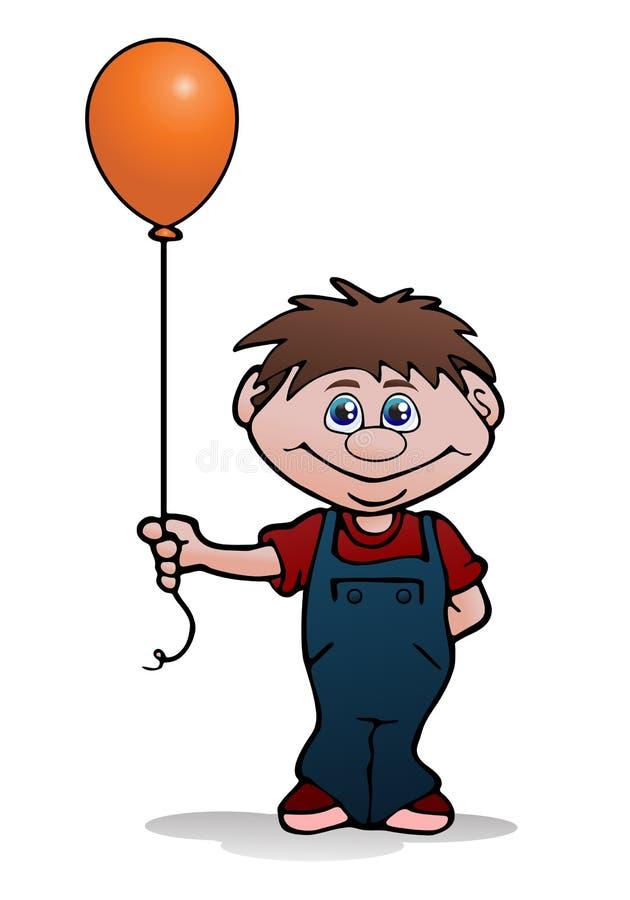 Kids Hold Balloon Stock Photos