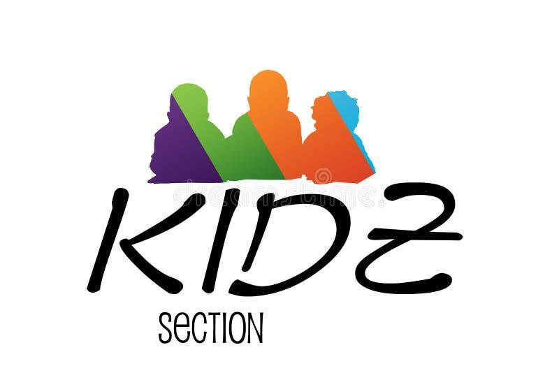 Download Kids Logo Design stock illustration. Image of logo, image - 18091784