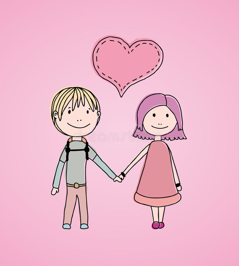 Download Kids Love Stock Photo - Image: 27586590