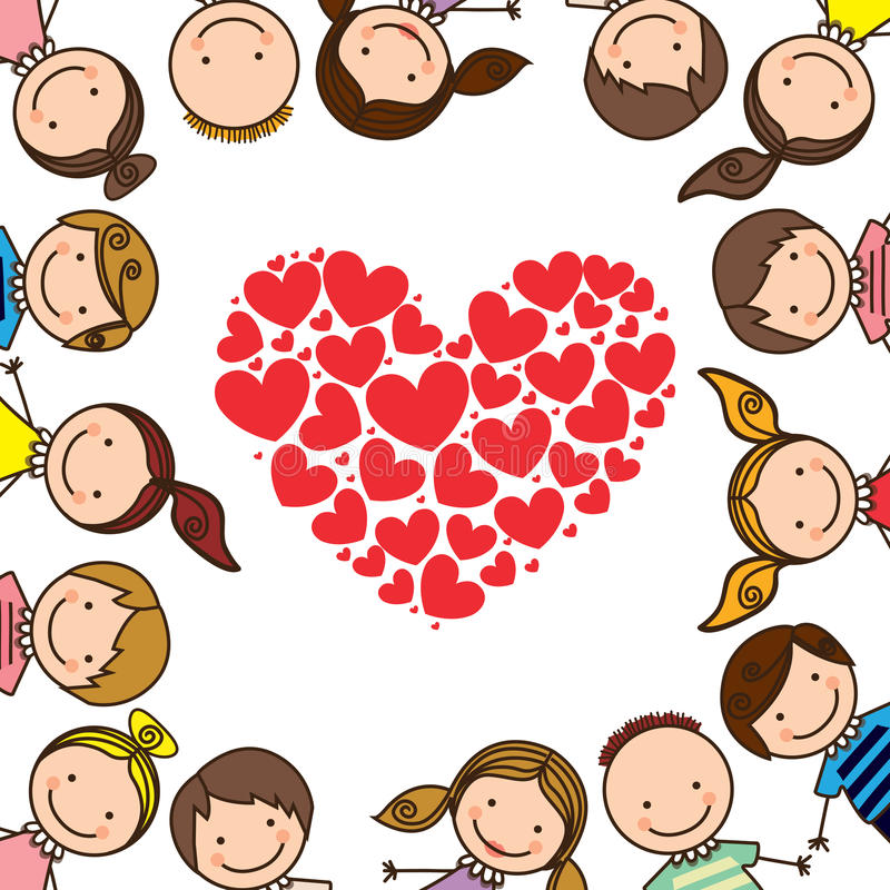 Kids love stock illustration