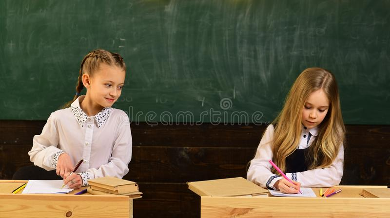 Kids often learn easier by using images pictures and spatial understanding. Children need private coach to keep up with. Class. Tutor require child to learn royalty free stock image