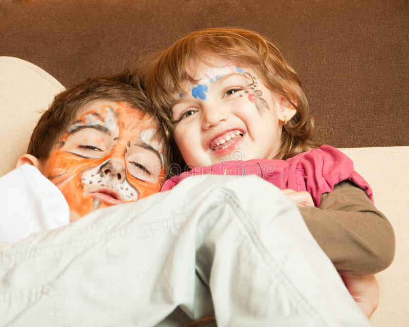 Download Kids after party stock photo. Image of painted, colorful - 13426830