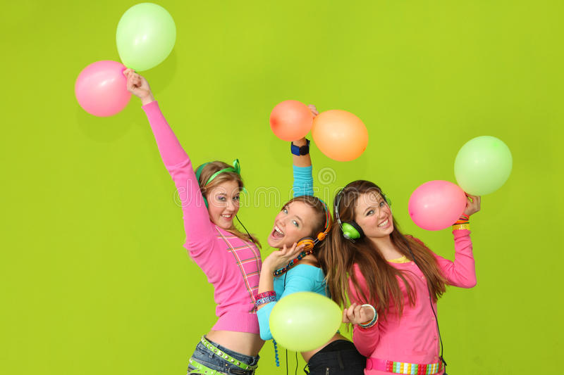 Download Kids party stock photo. Image of holiday, colourful, music - 27283706