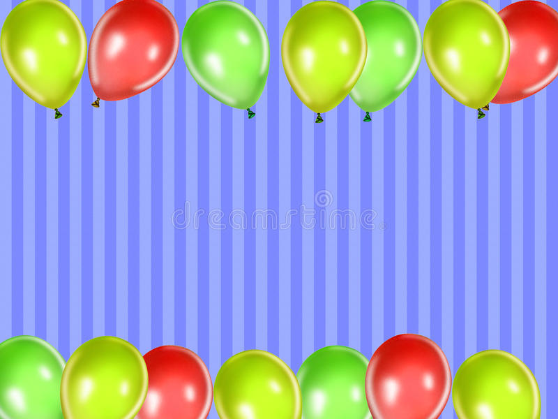 Kids Party Background Royalty Free Stock Photos
