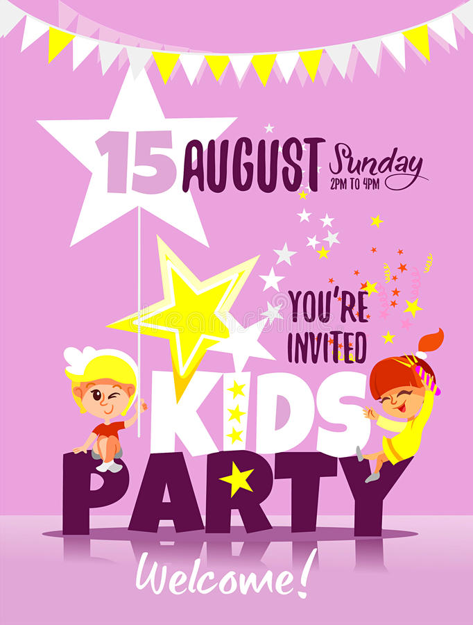 Kids Party Invitation Template – orderecigsjuice.info