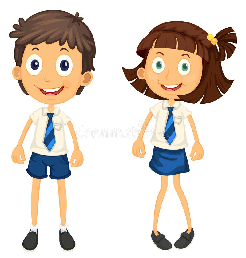 Download Kids with pencil stock vector. Image of background, learn - 26352186
