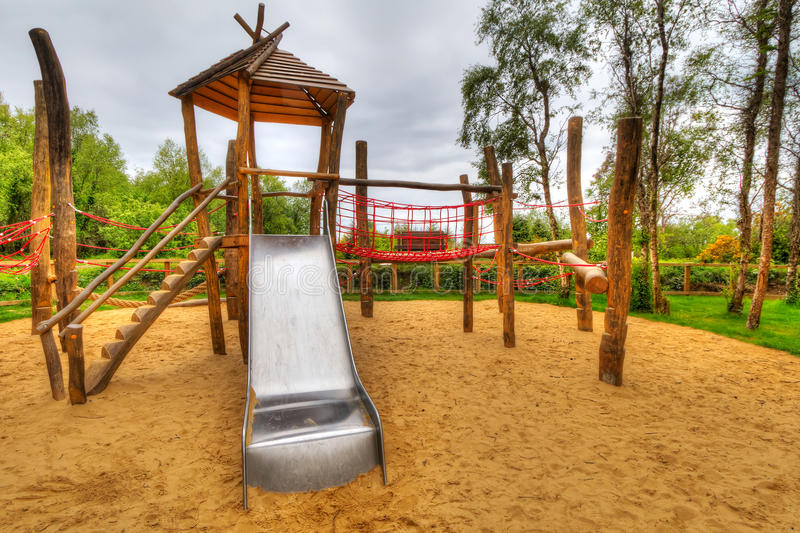 Download Kids playground stock image. Image of outside, ladder - 25046307