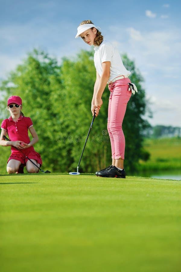 Free Kids Playing Golf Royalty Free Stock Photos - 60821688