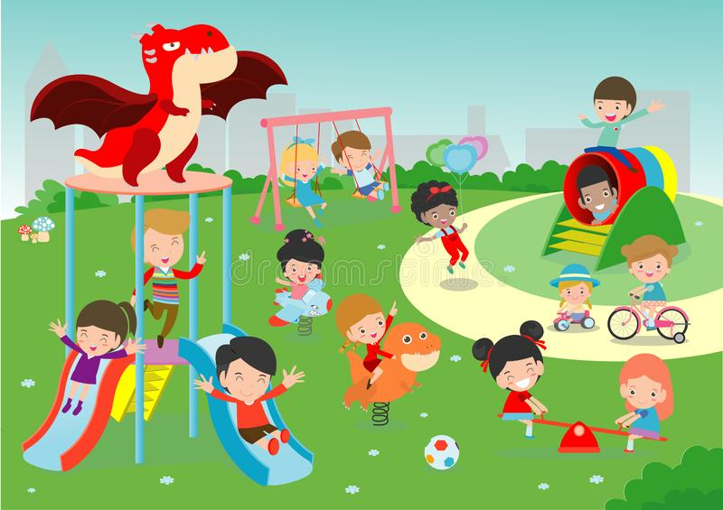 Cartoon Children Outside Playing Stock Illustrations 2 739 Cartoon Children Outside Playing Stock Illustrations Vectors Clipart Dreamstime