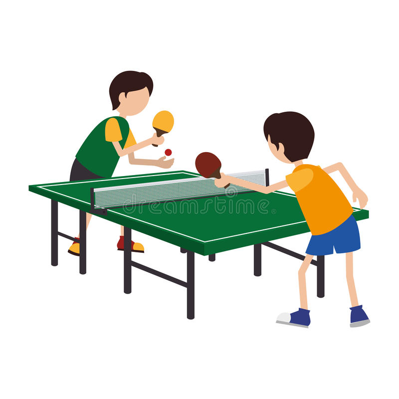 Free Kids Playing Ping Pong Royalty Free Stock Photography - 85797037